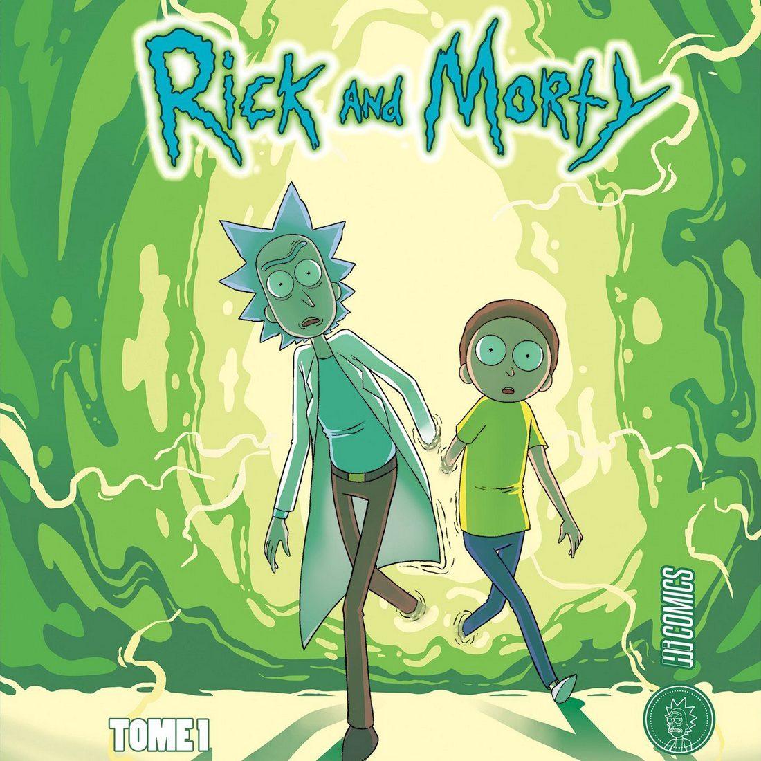 Rick And Morty Comics