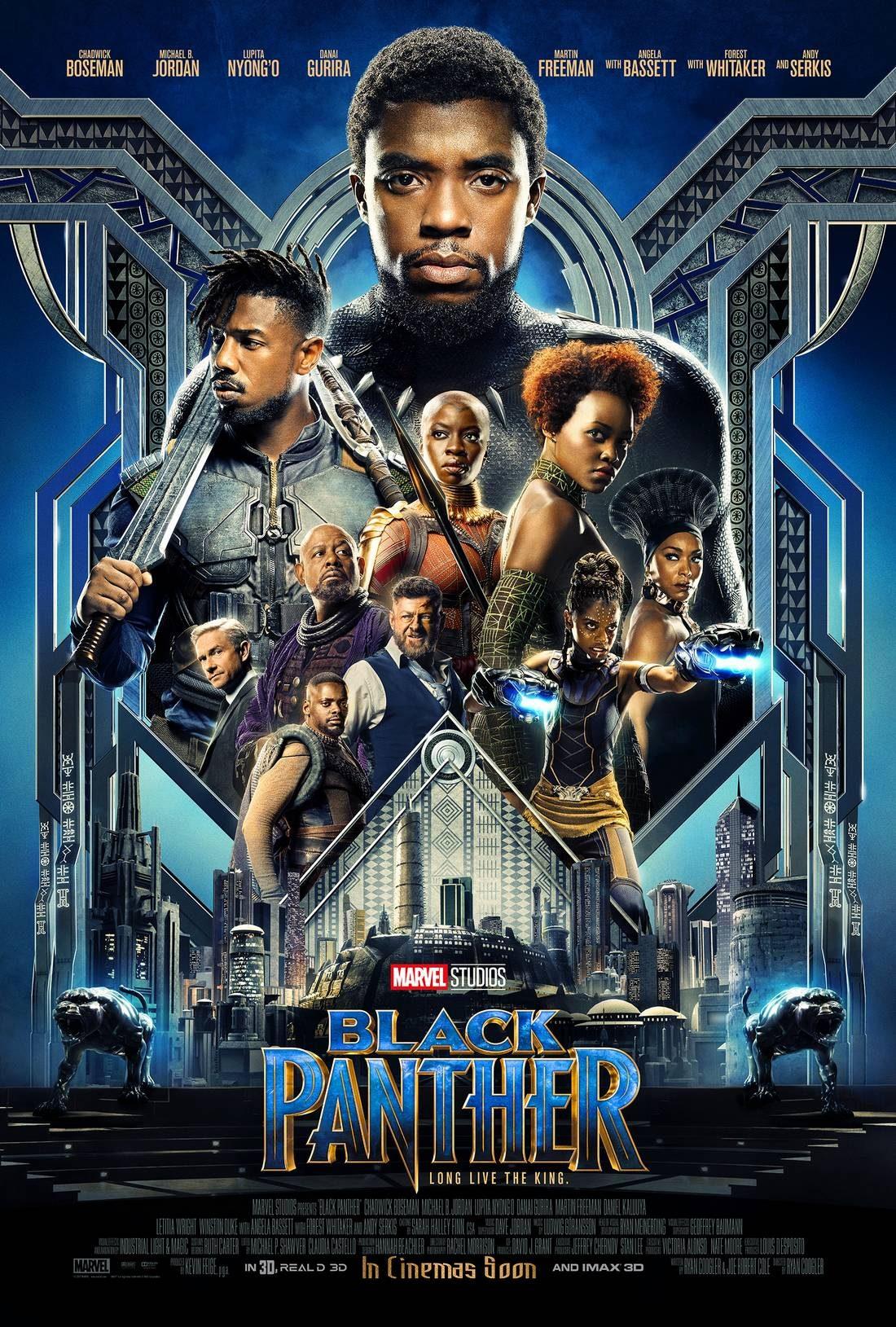 Affiche de Black Panther