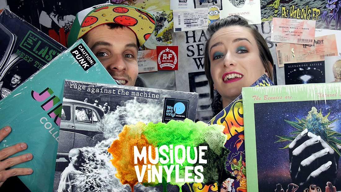 Vidéo Vinyles Mars 2018