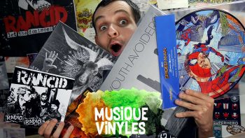 Vidéo Vinyles Mai 2018