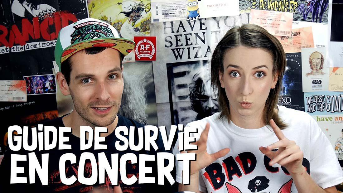 Vidéo Guide de Survie en Concert