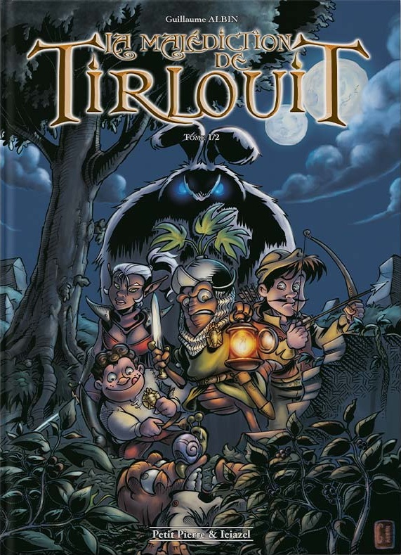 Couverture La Malédiction de Tirlouit