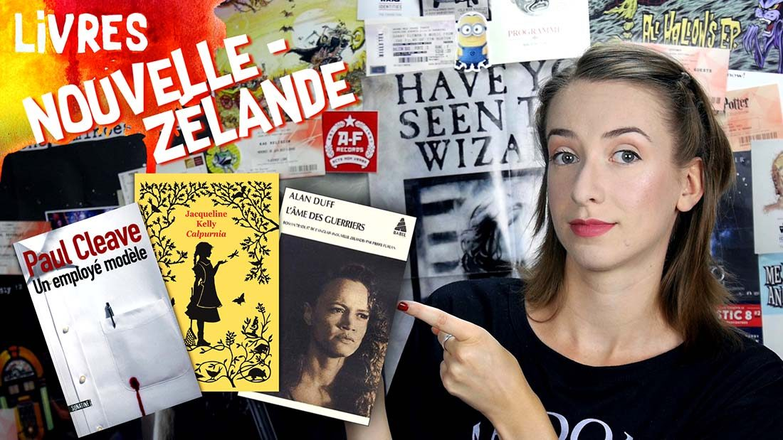Vidéo Wishlist auteurs Néo-Zélandais
