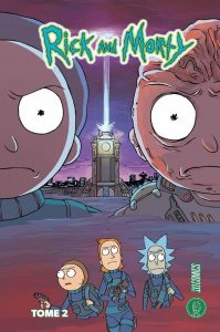 Couverture de Rick And Morty, Tome 2