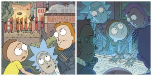 Extraits de Rick and Morty Tome 2