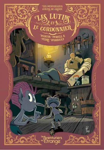 Couverture de Les Lutins Et Le Cordonnier