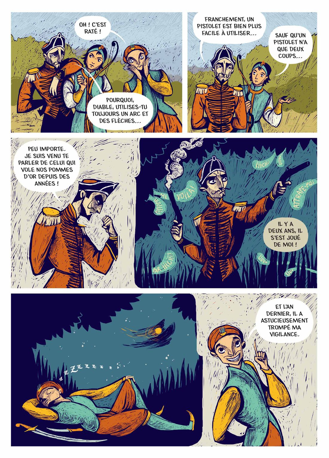 Page 8 de Au Cœur Des Terres Ensorcelées
