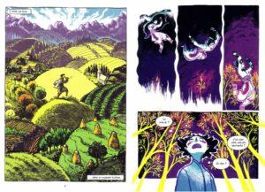Le Bal Des Douze Princesses pages 3 et 7
