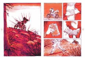 La Sorcière En Haut De La Montagne - Pages 4 et 5