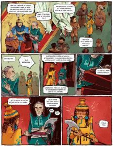 Le Sceau Du Dragon, Tome 2: Ira, L'Écuyère - Page 5