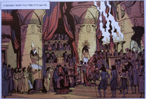 La Nuit de l'Horus Rouge page 42
