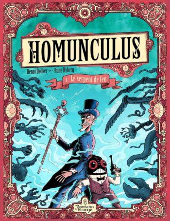 Couverture de Homunculus